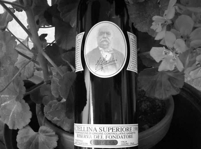 Bottiglia di vino Balgera